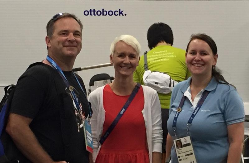 Mark, Christin and Beate