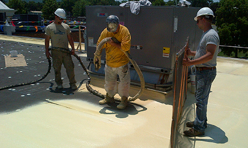 Spray Polyurethane Foam System