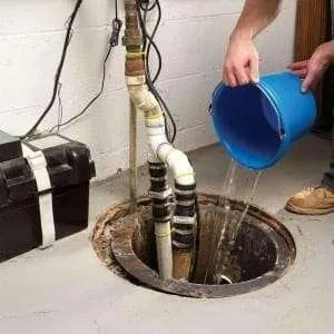 sump pump test