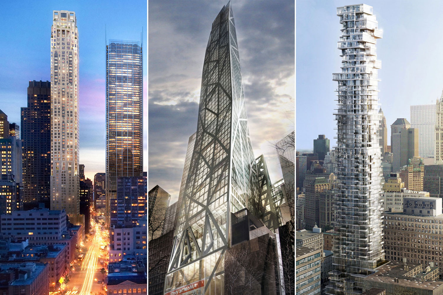 Tall And Thin Skyscraper Renderings: The New Bricks And