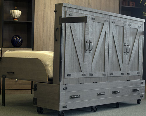 bed in a box miller s murphy bed and