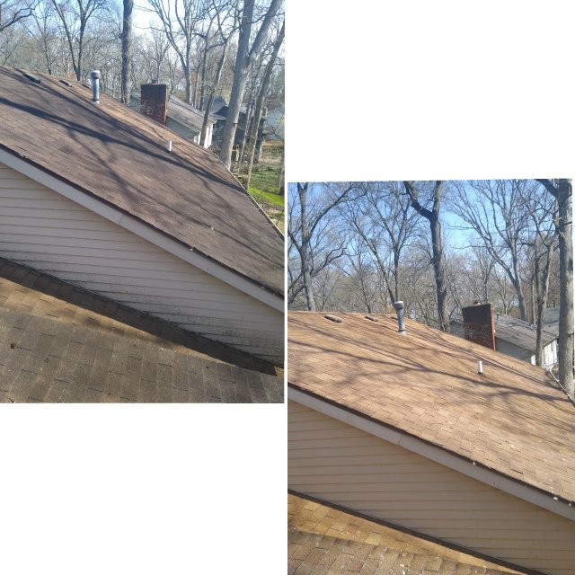 Roof  Softwash