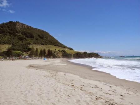 Mount Maunganui und Strand