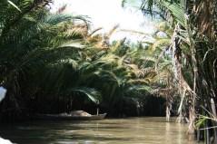 Kleiner Seitenkanal vom Mekong