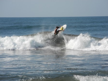 Surfer in Las Penitas