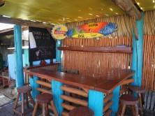 Bar in der Pelikan surf school