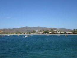 San Juan Del Sur vom Meer aus