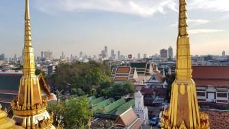 Blick vom Wat Ratchanaddaram