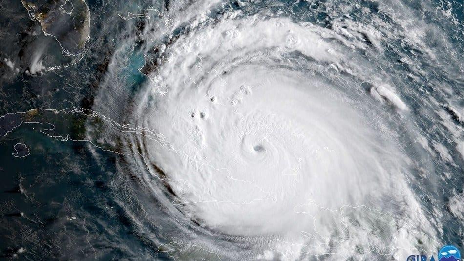 Hurricane approaching Florida