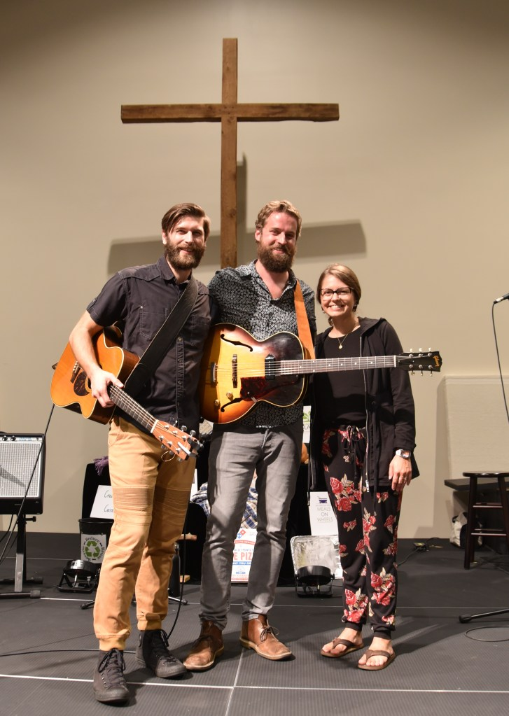 Photo of musicians from 2018 Benefit Concert: Sean Cox with Mr & Mrs Something