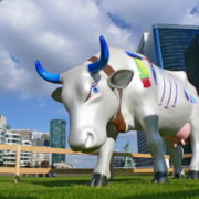 La grande vache -  Artiste : Gabriel Deshayes