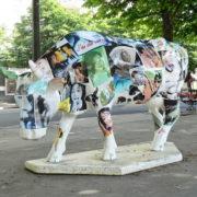 Vache de campagnes - Artiste : Pierre Dassas