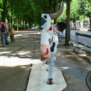 Cow Anatomique - Artiste : Herve Di Rosa