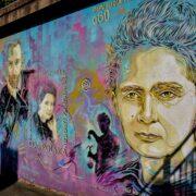 Fresque Marie Curie, C215, Vitry-Sur-Seine