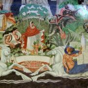 fresque de 600 m2 peinte par Pierre-Henri Ducos de La Haille