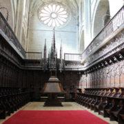 le choeur et ses 86 stalles, oeuvre du français Esteban de Obray, cathédrale de Tudela