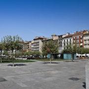 Plaza del castillo, Pampelune