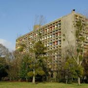 Le Corbusier, La maison radieuse de Rezé, Vu du Sud-ouest