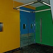 Le Corbusier, La maison radieuse de Rezé, Hall d'entrée