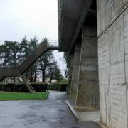 Le Corbusier, La maison radieuse de Rezé, Escalier de secours dit la Girafe