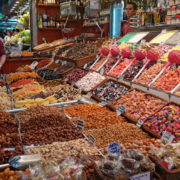 Barcelone, quartier des Remblas, Le marché de la Boqueria