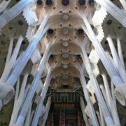Barcelone, Sagrada Familia, Nef intérieure
