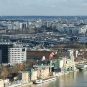 Echangeur autoroutier Paris-Bercy