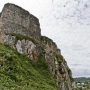 Ruines du chateau de La Roche Maurice