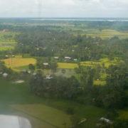 Arrivée par avion dans la région de Siem Reap