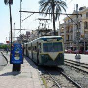 Le tramway rue Al-Sumal