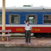 Arrivée à la gare de Hué