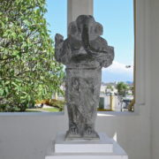 Au musee Cham de Danang: Ganesa debout Style de My Son fin du VIIe siecle en grès gris