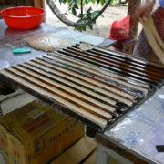 Fabrique de caramels vietnamiens