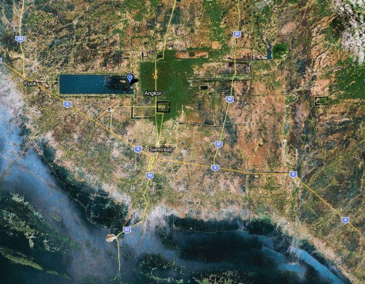 Carte Angkor