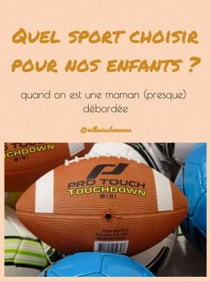 quel sport choisir
