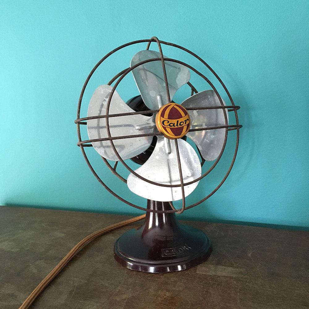 petit ventilateur calor des annees 50