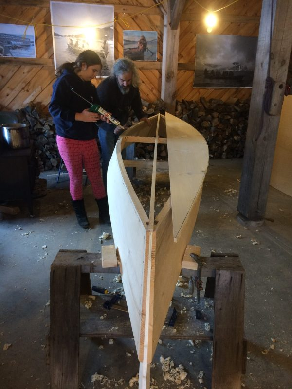 Boatbuilding Vacation Camp (ages 13-18) Spring 2020