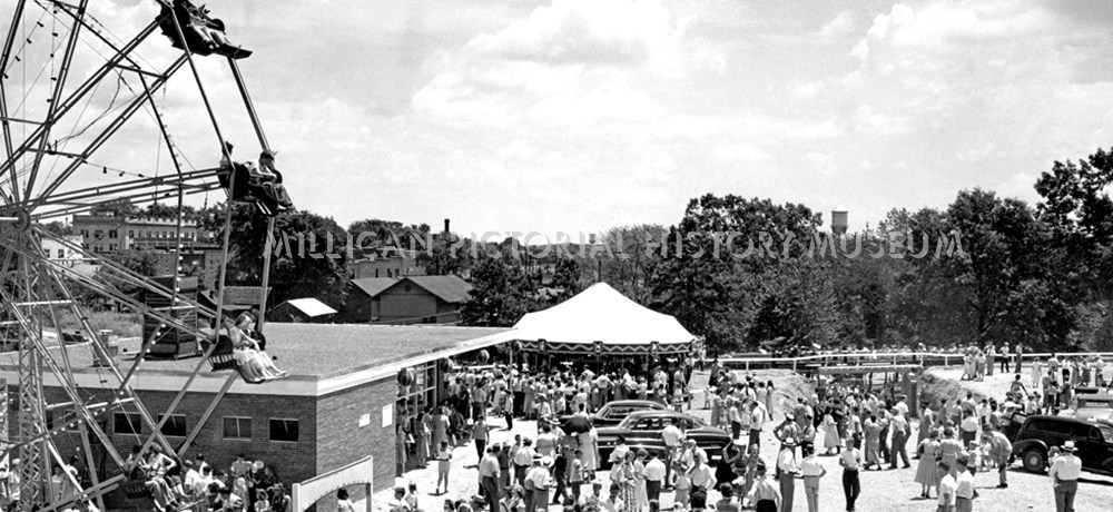 The Opening of Stowe Park July 04, 1951, Belmont, North Carolina