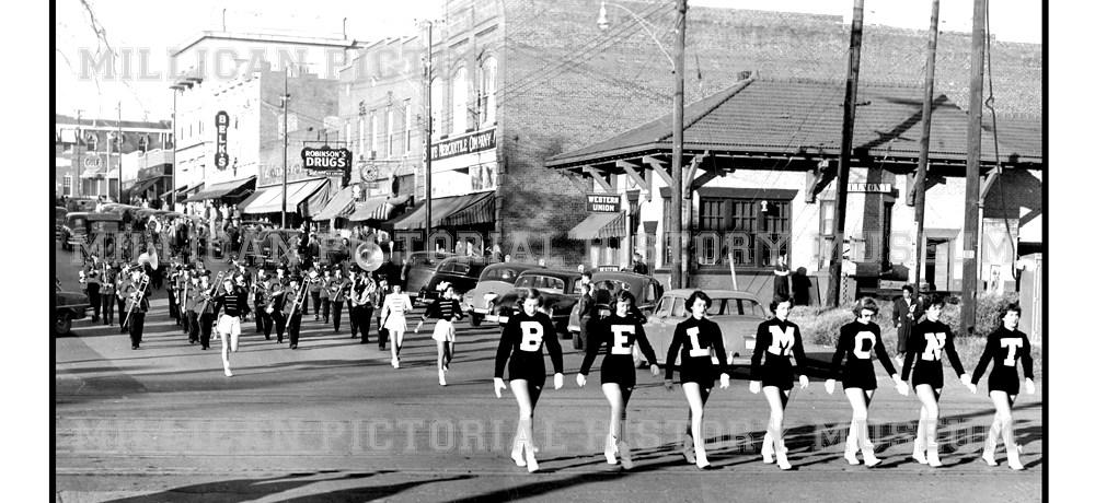 1951 Christmas Parade, Belmont, NC