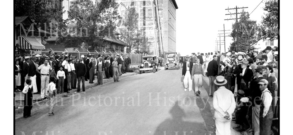 Strikers at Loray Mills, Gastonia, North Carolina in The 1934 Strike