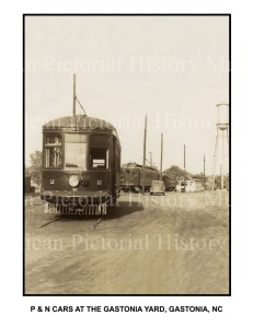 Piedmont & Northern ( P & N ) & Trollies