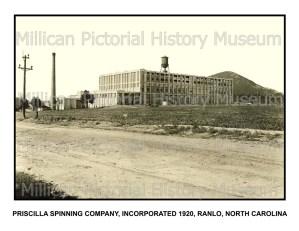 Priscilla Spinning Company