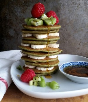 matcha-buck-wheat-pancakes