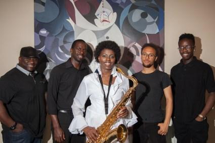 Millicent & Band: David Bass), Noval (Keys), Reuben (Guitar), Corey (Drums)