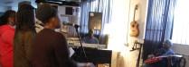 'Not Just Jazz' rehearsal: Marcia, Taleisha, Natasha, Noval & Ken