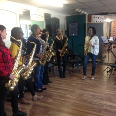 Saxes and Cheryl