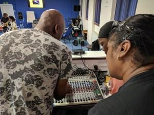 Cafemnee Take Control Of Your Sound Sept 2017 Millicent Stephenson Vine Hyatt Women Mixing Desk