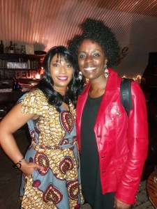 Paulette Tajah (Queen of Lover Rock legend) -and-Millicent-Stephenson (Saxophonist) Off The Cuff 4th Oct 2017