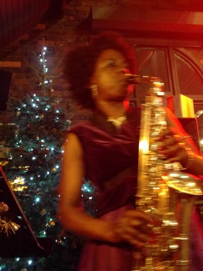 Millicent Stephenson Female Saxophone Player The Distillery Birmingham Gems 5