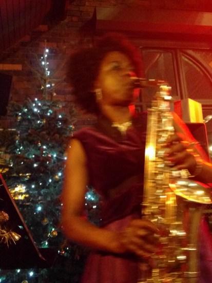 Millicent Stephenson Female Saxophone Player The Distillery Birmingham Gems 5
